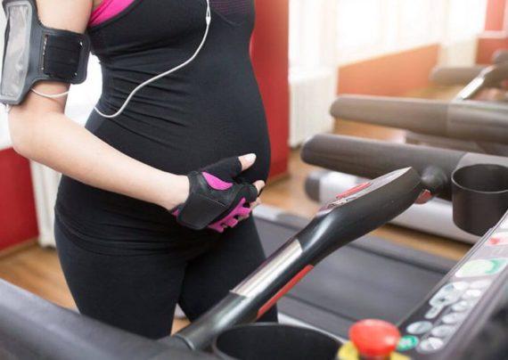 فواید ورزش و تردمیل در بارداری
