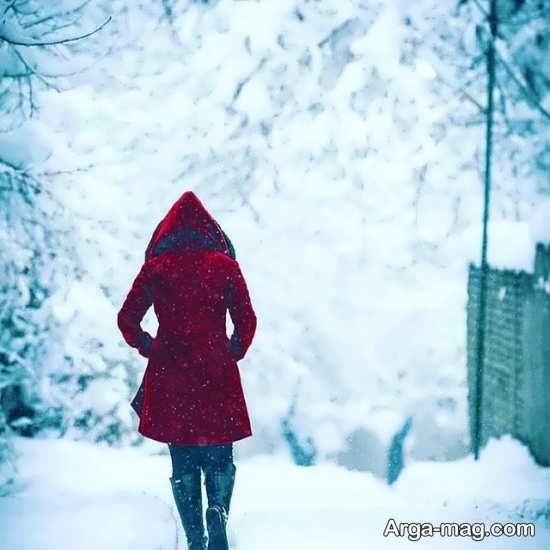 عکس پروفایل برای زمستان با طرح جدید