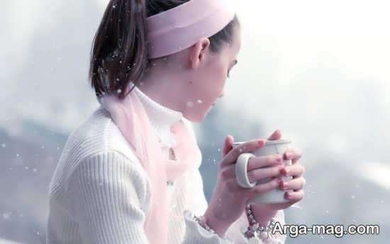 عکس نوشته دیدیی زمستانی
