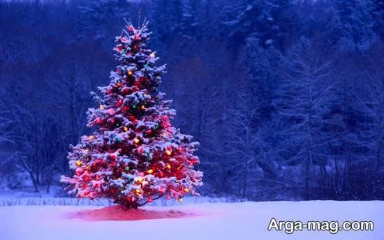 عکس نوشته ساده و جالب زمستانی