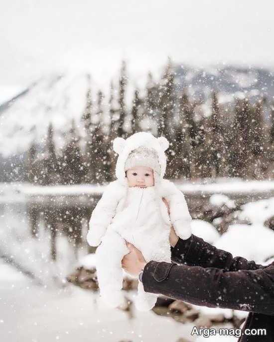 عکس پروفایل برای زمستان با طرح زیبا