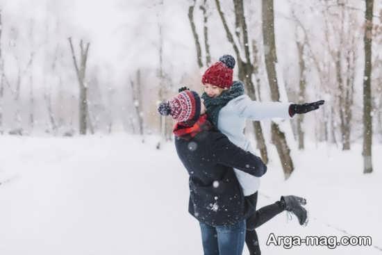 عکس نوشته های جالب زمستانی