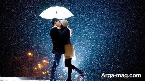 تصویر لاکچری و رمانتیک برای پروفایل زمستان