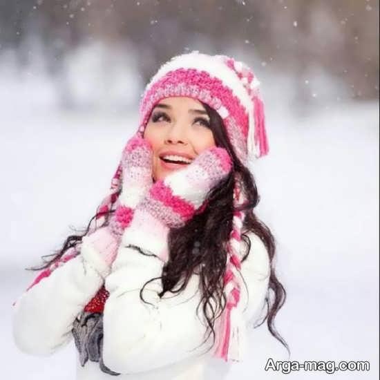 تصویر خاص و زیبا برای زمستان