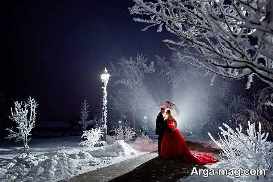 تصویر عاشقانه برای زمستان