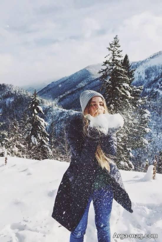 عکس پروفایل برای زمستان با منظره های زیبا و رمانتیک