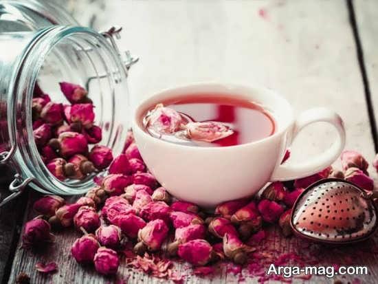 خواص دمنوش گل محمدی در کاهش عفونت