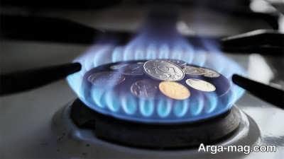 صرفه جویی در گاز و سرمایه های شخصی حود