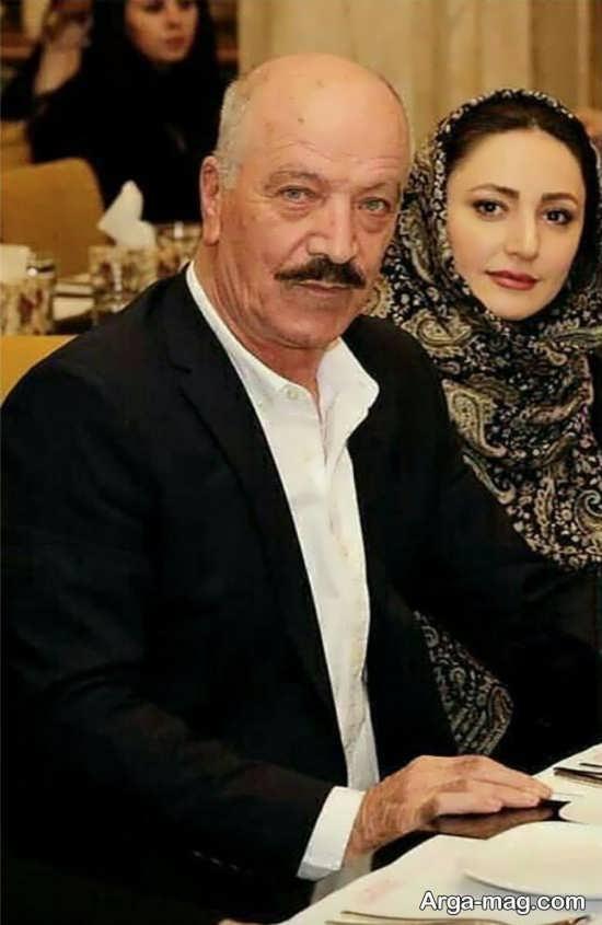 عکس دیدونی و خاص سعید راد کنار همسر دومش