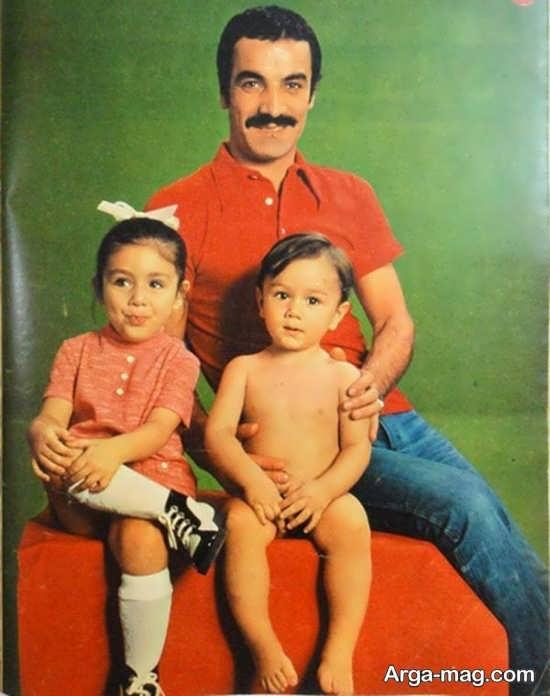دو قلو های دوست داشتنی سعید راد از همسر اولش