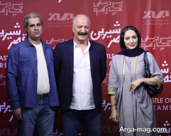 تصویر سعید راد همراه با خانم ژیلا آل رشاد