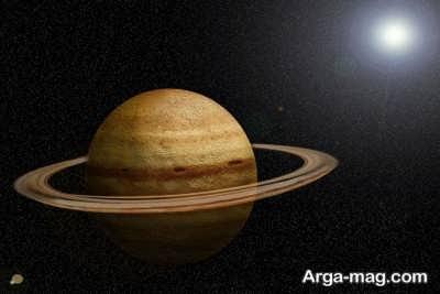 محل قرار گیری سیاره زحل