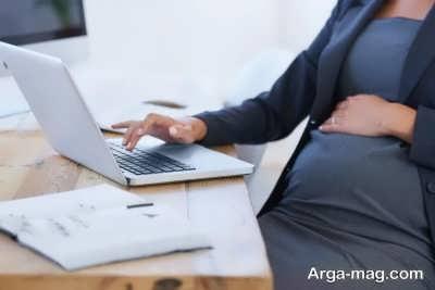 نشستن زیاد در بارداری