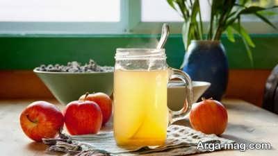 کاهش وزن با سرکه سیب و عسل