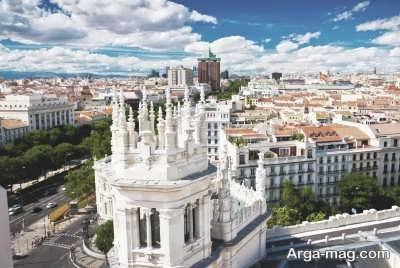 منطقه زیبای اسپانیا