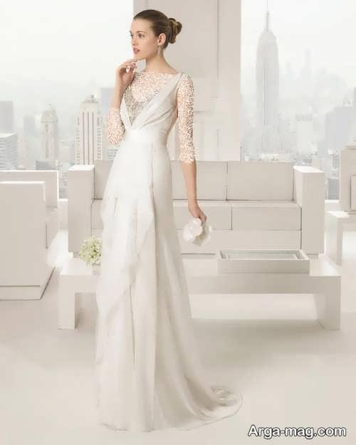 مدل لباس عروس اسپانیایی شیک