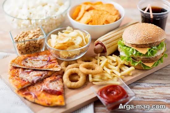 غذاهای مضر برای زخم معده