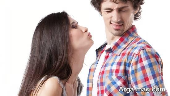 رفتار بهتر با مرد بی علاقه