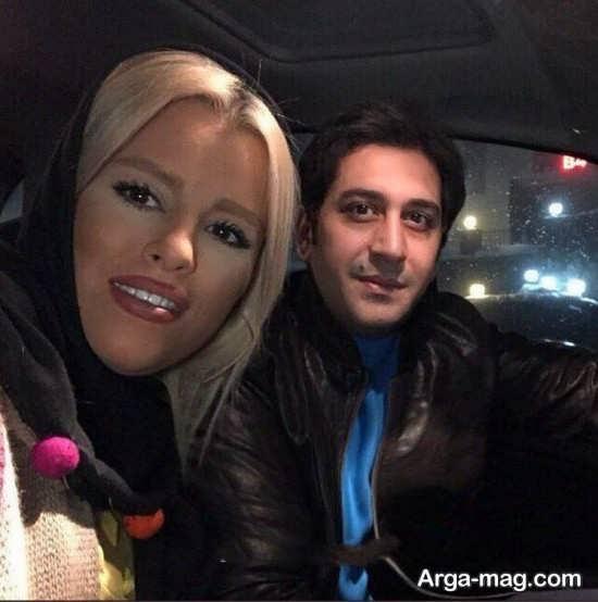 تصویر دیدنی و تماشای وحید شیخ زاده و همسرش