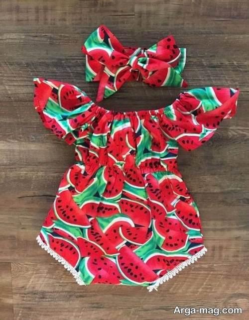 لباس طرح دار