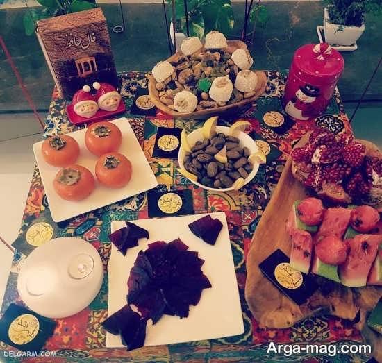 تزئینات جدید شب یلدا برای مدرسه