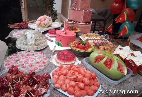 تزئینات دوست داشتنی شب یلدا برای مدرسه