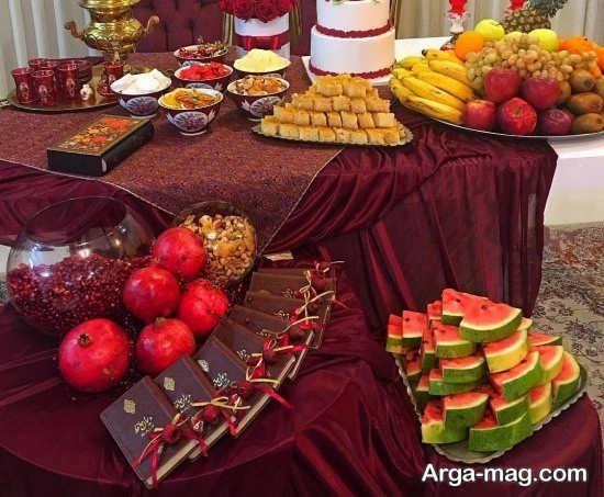 متنوع ترین تزیینات شب یلدا برای مدرسه