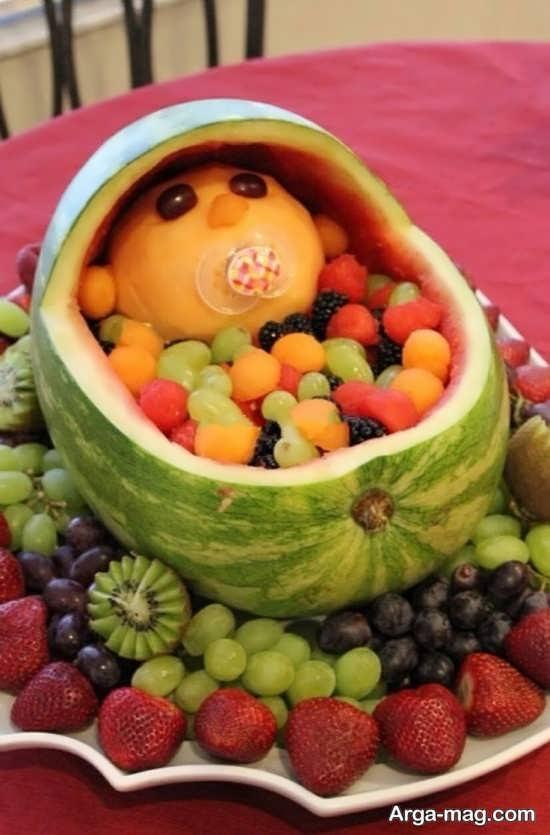 میوه آرایی برای مناسبت یلدا