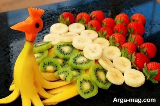 تزیین جالب میوه شب یلدا