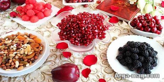 تزئینات دوست داشتنی انار برای شب یلدا