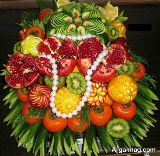 منحصر به فرد ترین تزئین انار برای شب یلدا