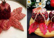 مجموعه زیبا از تزیین انار برای شب یلدا