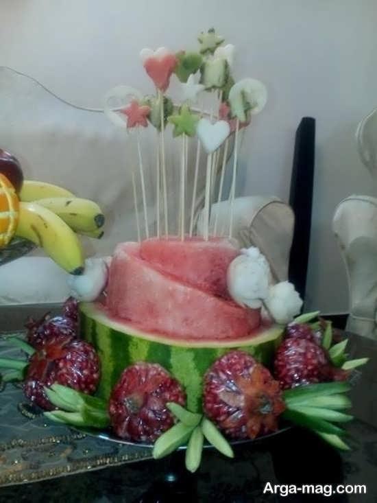 گلچینی زیبا از تزئینات انار برای شب یلدا