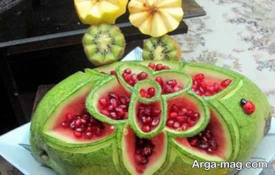 تزئینات انار برای شب یلدا با ایده های جدید
