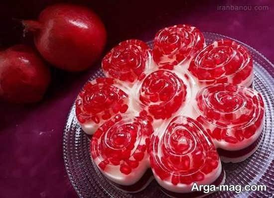 تزئینات انار برای شب یلدا با ایده های متفاوت