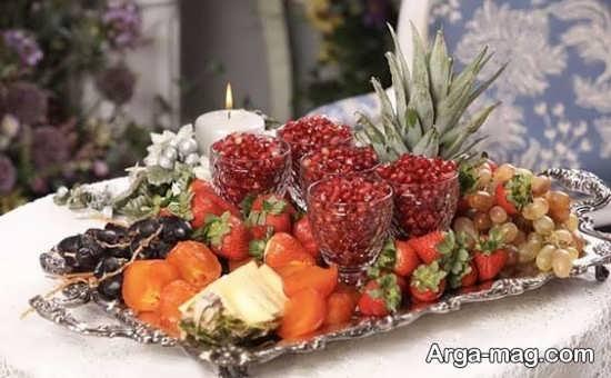 تزئینات انار برای شب یلدا با ایده های قشنگ