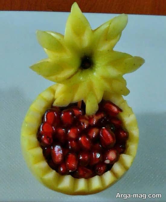 تزئینات خاص انار برای شب یلدا