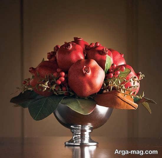 تزئین برای میز شب یلدا