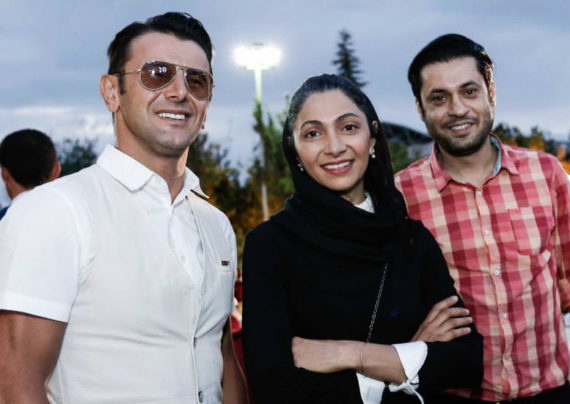 امین حیایی بازیگر برجسته و معروف سینمای ایران