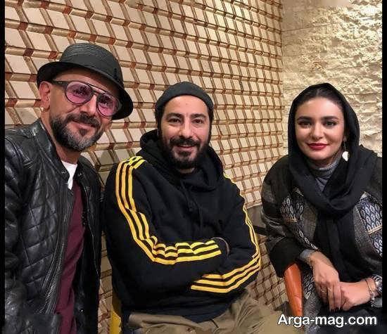 امین حیایی در اکران مردمی فیلم سینمایی چشم و گوش بسته