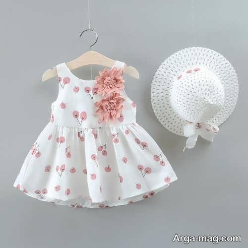 لباس مجلسی طرح دار دخترانه