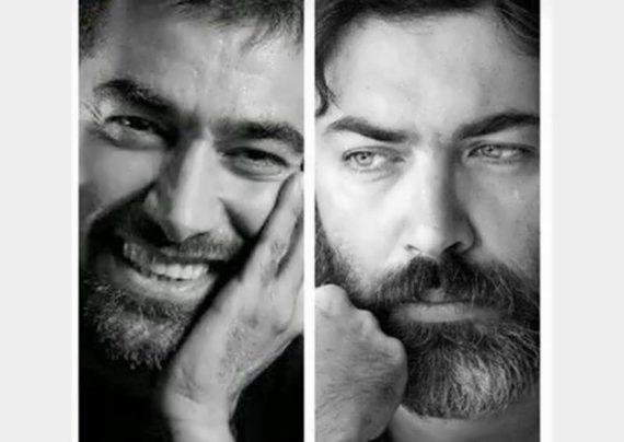 شهاب حسینی در نقش شمس تبریزی و پارسا پیروز فر در نقش مولانا در مست عشق