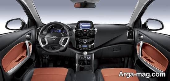 امکانات داخلی خودروی هایما S5