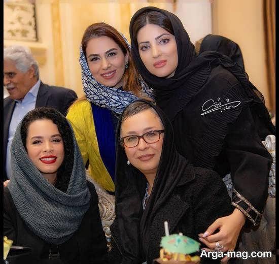 تیپ متفاوت هلیا امامی در مراسم سپاس تهیه کنندگان سینما