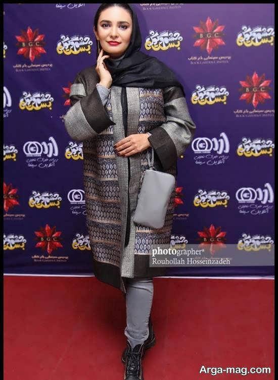 لیندا کیانی در مراسم اکران فیلم سینمایی « چشم و گوش بسته»
