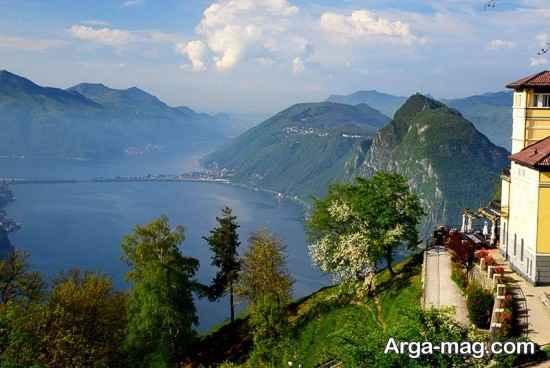مکان های دیدنی زیبای لوگانو
