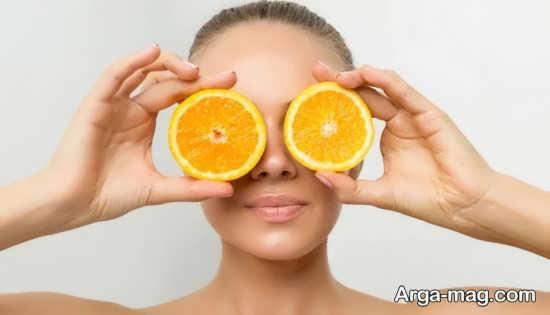 ماسک برای پوست چرب با استفاده از عصاره پرتقال