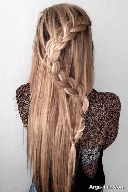 بافت موی زیبا و جذاب