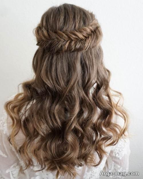 بافت مو برای موهای باز