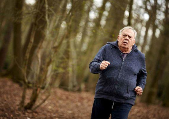 لاغری افراد مسن با ورزش
